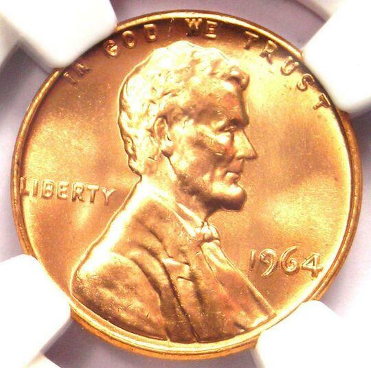 1964 penny Item Image