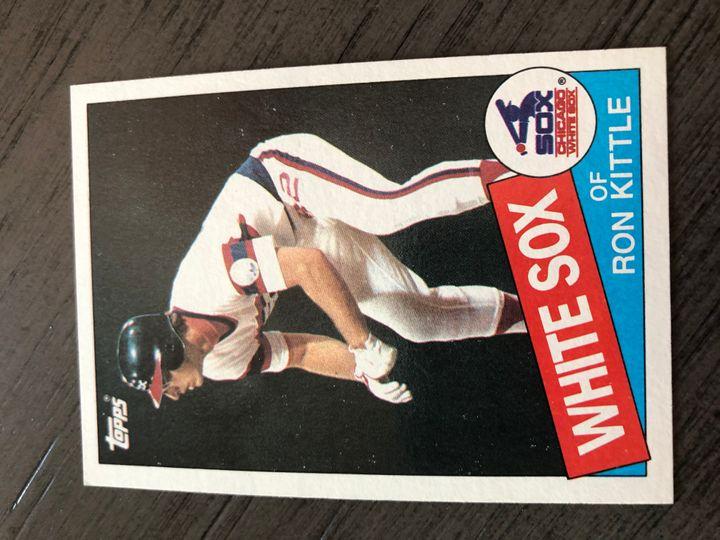 1985 TOPPS RON KITTLE 105 Item Image