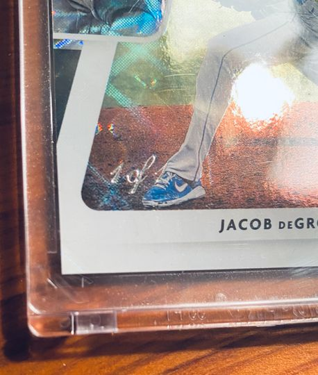 2021 Donruss Jacob DeGrom Dominators Black 1/1  Item Image
