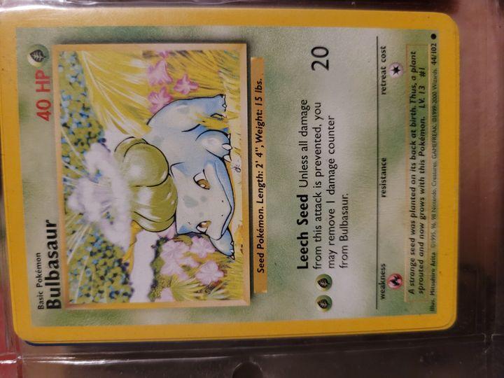 bulbasaur 44/102 Item Image